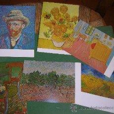 Postales: 6 POSTALES VINCENT VAN GOGH . Lote 31360675