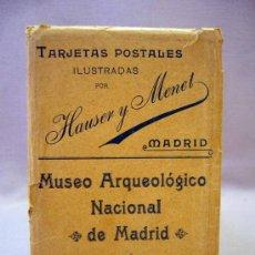 Postales: POSTAL, TARJETAS POSTALES ILUSTRADAS, HAUSER Y MENET, MUSEO ARQUEOLOGICO NACIONAL DE MADRID, V SERIE. Lote 31751713