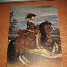 Postales: FELIPE IV ECUESTRE MUSEO DEL PRADO 1178 VELAZQUEZ. Lote 31713881