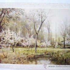 Postales: JOAQUIN VAYREDA. MUSEO ARTE MODERNO BARCELONA. Nº 6. ESCUDO DE ORO. Lote 31767186