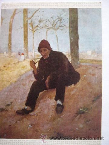 JOAQUIN MIR. MUSEO ARTE MODERNO BARCELONA. Nº 16. ESCUDO DE ORO (Postales - Postales Temáticas - Arte)