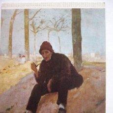 Postales: JOAQUIN MIR. MUSEO ARTE MODERNO BARCELONA. Nº 16. ESCUDO DE ORO. Lote 31767201
