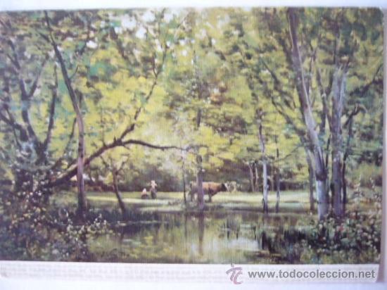 JOAQUIN VAYREDA. MUSEO ARTE MODERNO BARCELONA. Nº 7. ESCUDO DE ORO (Postales - Postales Temáticas - Arte)