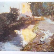 Postales: JOAQUIN VAYREDA. MUSEO ARTE MODERNO BARCELONA. Nº 18. ESCUDO DE ORO. Lote 31770767