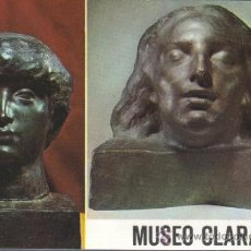 Postales: POSTAL DEL MUSEO DEL FAMOSO ESCULTOR CLARA - ESCULTURA - Nº 18. Lote 31807541