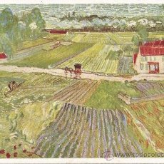 Postales: +-+ PV685 - POSTAL - VICENT VAN GOGH - AFTER THE RAIN. Lote 31847421