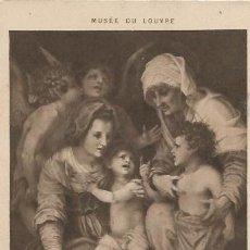 Postales: ** PH611 - MUSÉE DU LOUVRE - ANDREA DEL SARTO - SAINTE FAMILLE. Lote 31994383