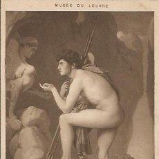 Postales: ** PH602 - MUSÉE DU LOUVRE - INGRES ( DOMINIQUE ) EDIPE EXPLIQUANT L´ENIGME. Lote 31994866