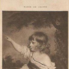 Postales: ** PH601 - MUSÉE DU LOUVRE - REYNOLDS ( SIR JOSHUA ) PORTRAIT DE MASTER HARE. Lote 31994914