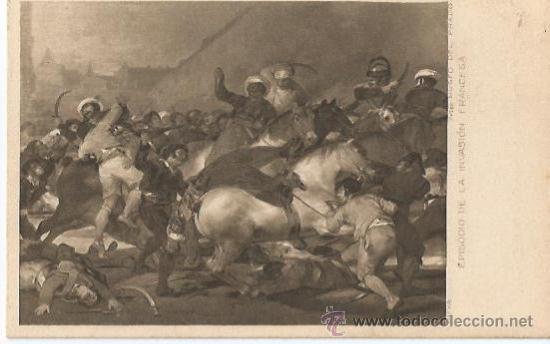 ** PH483 - POSTAL - MUSEO DEL PRADO - GOYA - EPISODIO DE LA INVASION FRANCESA (Postales - Postales Temáticas - Arte)