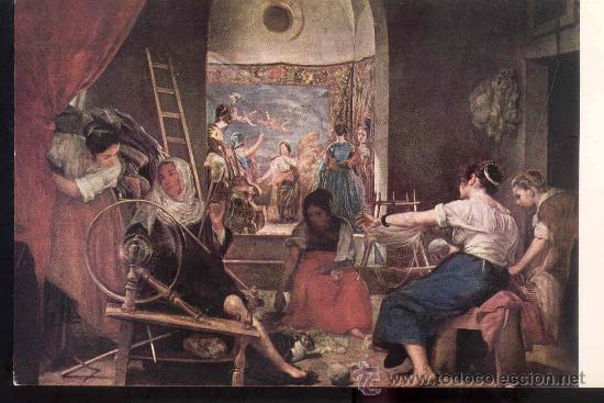 2 postales cuadros velazquez - museo del prado - Comprar Postales ...