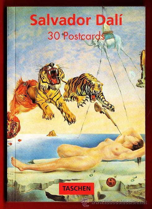 SALVADOR DALI - LIBRO CARPETA CON 30 POSTALES - ED. TASCHEN - AÑO 1992 - R- EV (Postales - Postales Temáticas - Arte)