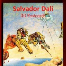 Postales: SALVADOR DALI - LIBRO CARPETA CON 30 POSTALES - ED. TASCHEN - AÑO 1992 - R- EV. Lote 32067946