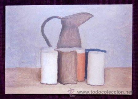 GIORGIO MORANDI - NATURALEZA MUERTA CON VASO (Postales - Postales Temáticas - Arte)