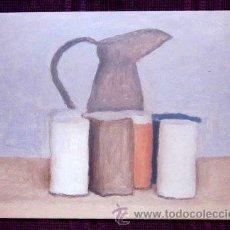 Postales: GIORGIO MORANDI - NATURALEZA MUERTA CON VASO. Lote 32189290