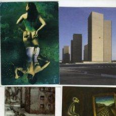 Postales: LOTE 15 POSTALES DE ARTISTAS Y FOTÓGRAFOS CONTEMPORÁNEOS.. Lote 32255360