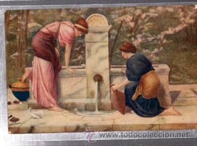 TARJETA POSTAL RAPHAEL TUCK Y SONS, ENGLAND, Nº2398, THE CLASSIC AGE (Postales - Postales Temáticas - Arte)