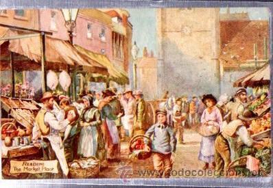 TARJETA POSTAL RAPHAEL TUCK Y SONS, OILETTE, Nº 7527, READING (Postales - Postales Temáticas - Arte)