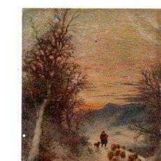 Postales: TARJETA POSTAL RAPHAEL TUCK Y SONS, OILETTE, Nº 9978, WINTER´S MANTLE. Lote 32325650