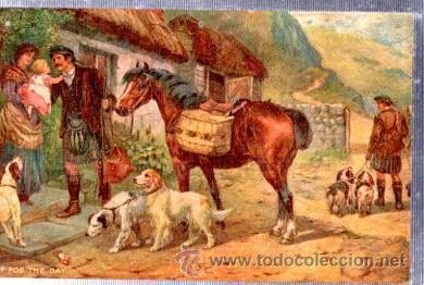 TARJETA POSTAL RAPHAEL TUCK Y SONS, OILETTE, Nº 9514, RURAL LIFE (Postales - Postales Temáticas - Arte)