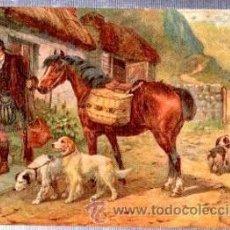 Postales: TARJETA POSTAL RAPHAEL TUCK Y SONS, OILETTE, Nº 9514, RURAL LIFE. Lote 32325656