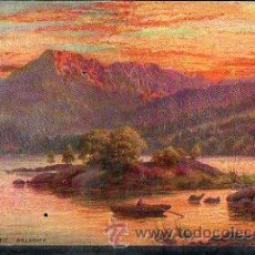 Postales: TARJETA POSTAL RAPHAEL TUCK & SONS. OILETTE - THE MUCKROSS LAKE 7260. Lote 32338511