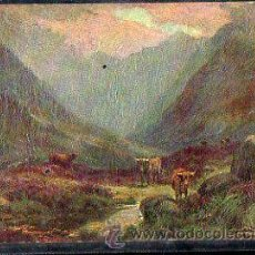 Postales: TARJETA POSTAL RAPHAEL TUCK & SONS. OILETTE - IN GLENCOE 7942. Lote 32338525