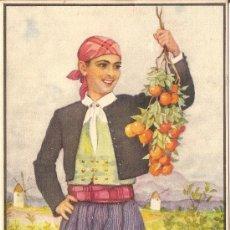 Postales: ERWIN HUBERT, NARANJAS DE SOLLER (MALLORCA) - J.BARGUÑÓ - SIN CIRCULAR. Lote 179325373