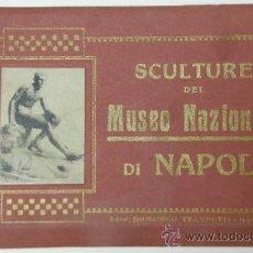 Postales: LIBRO 20 POSTALES NAPOLES ITALIA MUSEO NACIONAL DE NAPOLI EDITOR DOMENICO TRAMPETTI. Lote 32647413