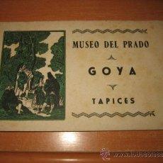 Postales: MUSEO DEL PRADO GOYA TAPICES 10 POSTALES EN COLOR HELIOTIPIA ARTISTICA . Lote 32665159