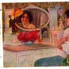 Postales: PINTURA CARLOS VAZQUEZ. CIRCULADA 1919. Lote 32701992