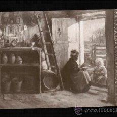 Postales: POSTAL SALON DE PARIS - LA BECQUEÉ. Lote 32724272