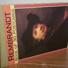 Postales: REMBRANDT (BOOK OF 30 POSTCARDS) MAGNA BOOKS-1990. Lote 32918792
