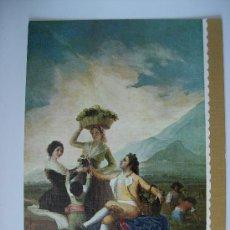 Postales: 3 POSTALES -- GOYA - LA VENDIMIA (LAS OTRAS SE VEN EN FOTOS ADJUNTAS). Lote 33018718