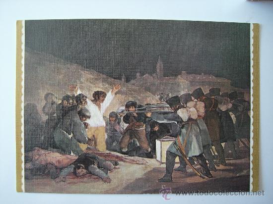 3 POSTALES DE GOYA - MURILLO - EL GRECO (LAS OTRAS DOS SE VEN EN FOTOS ADJUNTAS) (Postales - Postales Temáticas - Arte)