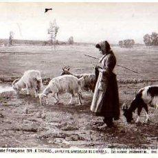 Postales: SALON DE L'ESCOLE FRANÇAISE 1914. A. THOMAS. CIRCULADA 1915. Lote 33040691