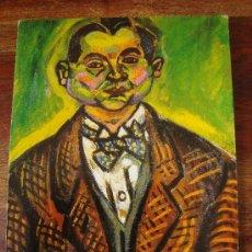 Postales: JOAN MIRÓ, AUTORRETRATO (1917) -NO CIRCULADA-.. Lote 33076266