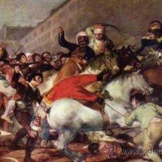 Postales: MUSEO DEL PRADO GOYA EL DOS DE MAYO DE 1808 EN MADRID SIN CIRCULAR. Lote 33778547