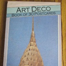 Postales: ALBUM DE 30 POSTALES .. ART DECO .. BOOK OF 30 POSTCARDS. Lote 33885716