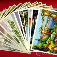 Postales: LOTE DE 25 TARJETAS POSTALES TEMA PAISAJES , 12 DIFERENTES , ORIGINALES. L1. Lote 34884133