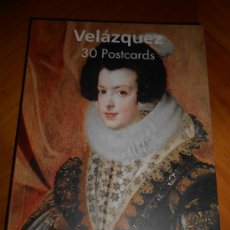 Postales: 30 POSTALES DE VELÁZQUEZ (EDIT TASCHEN) EN FORMATO LIBRO. Lote 35556459