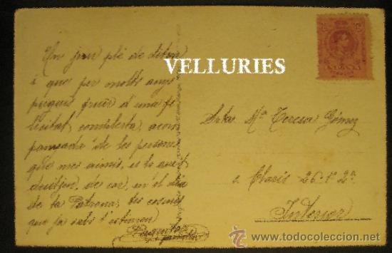 Postales: ACHILLE MAUZAN. EDITADA EN MILAN. CIRCULADA - Foto 2 - 35739084