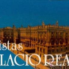 Postales: POSTALES LIBRETO 10 VISITAS DEL PALACIO REAL DE MADRID. SERIE A. AÑOS 80. 10 POSTALES.. Lote 35967286