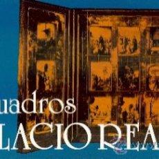 Postales: POSTALES LIBRETO 10 CUADROS DEL PALACIO REAL DE MADRID. SERIE E. AÑOS 80. 10 POSTALES.. Lote 35967334