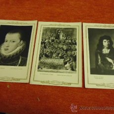 Postales: LOTE 3 ANTIGUAS POSTALES BLANCO Y NEGRO LEGADO CAMBO 1957 INFONAL, XXV FERIA OFICIAL DE MUESTRAS . Lote 35887456
