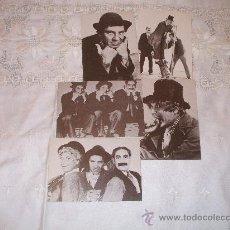 Postales: LOTE DE 5 POSTALES HERMANOS MARX EDITADAS EN FRANCIA( DELTA 1980). Lote 35894342