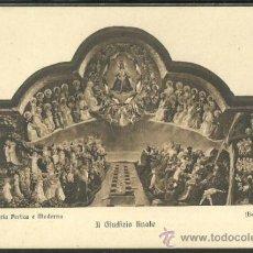Postales: EL JUICIO FINAL. FLORENCIA. EDIT. BRUNNER. BEATO ANGELICO.. Lote 36127292
