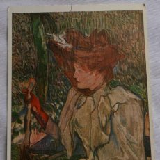 Postales: POSTAL WIECHMANN BILDKARTEN - HENRI DE TOULOUSE-LAUTREC - SIN CIRCULAR. Lote 36365076