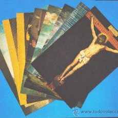 Postales: LOTE DE 9 POSTALES - COLECCIÓN ARTE UNIVERSAL, SERIE MUSEO DEL PRADO 3 - EDITADAS POR CEDIPSA S.A.. Lote 36907720