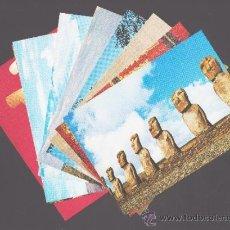 Postales: LOTE DE 9 POSTALES - COLECCIÓN ARTE UNIVERSAL, SERIE ARTE PRECOLOMBINO - EDITADAS POR CEDIPSA S.A.. Lote 36907805